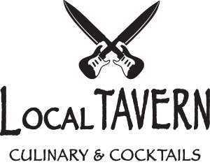 Local Tavern Icon & Text Vector.eps